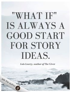 Writing advice from Lois Lowry, author of The Giver