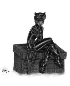 Catwoman by em-scribbles on DeviantArt