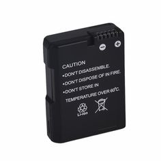 Digital Camera Rechargeable Battery 1030mAH For EN-EL14 Nikon COOLPIX P7000 P7100 D3100 D3200 D5100Camera