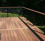 Stainless steel cable deck rail