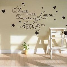 Le Little Star Kids Baby Nursery Room Vinyl Wall Decal Quote Design Sticker