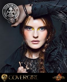 Get the tips and tricks to create COVERGIRL's District 12 nail look, inspired by The Hunger Games: Catching Fire.