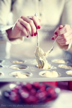 Miss Small - my daily life: baking with cranberries
