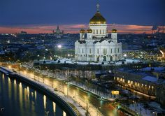 Cathedral of Christ the Saviour Founded in Moscow