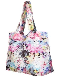 An all-over floral print bag is an easy way to get on board with this trend.