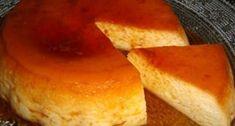 Flan de manzana en microondas