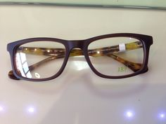 Boys don't miss out in the fashion eyewear stakes either - this ARP frame in Matt Brown plus blonde tortoiseshell sides really hits the style spot! £80.00 for the frame at Leslie Warren Opticians, Sevenoaks.