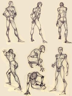 some more figure drawing by ~Luthie13 on deviantART