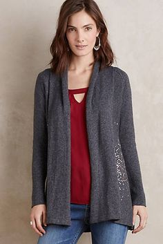 Fete Draped Cardigan