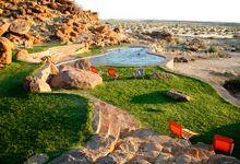 Canon Lodge swimming pool, Southern Namibia
