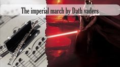 Partitura The imperial march by Dath vaders Flauta Traversa