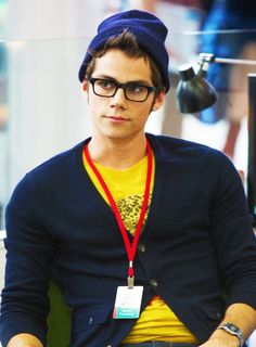 Dylan O'Brien...I fell in love at first site...ahaha I made a pun..get it...he's a google intern....website....oh forget it