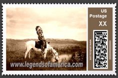 native american stamps | Native American Postage Stamp
