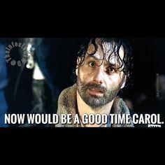 The Walking Dead funny meme. season 6 finale