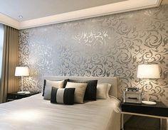 papel decorado para quartos