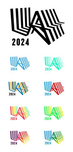M c saatchi la la 2024 olympic bid city City Branding, Logo Branding, Logo Inspiration, Olympic Logo, City Logo, Cool Typography, Creative Brochure, Great Logos, Signage Design