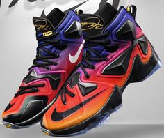LeBron 13 DB Multi-Color/Black