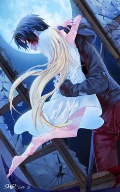 Angels of Death, Satsuriku no Tenshi; Rachel Gardner and Zack; Can't wait for the upcoming Anime Angel Of Death, Manga Angel, Manga Romance, Couple Manga, Film Manga, Ange Demon, Rpg Horror Games, Satsuriku No Tenshi, Another Anime