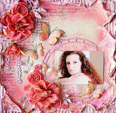 Blue Fern Studios September project using Roman Clock Set and Mixed Chains