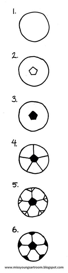 How to make a soccer ball⚽️