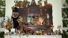 Some of my vintage Halloween!