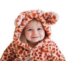 Giraffe Print Luxe Fur Jacket 6m