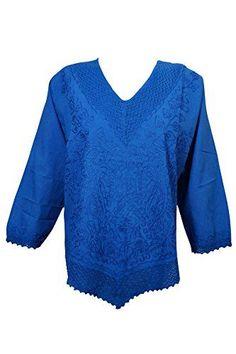 Womens Indian Top Hand Embroidered Cotton Long Sleeves Bo... https://www.amazon.com/dp/B07416SSL7/ref=cm_sw_r_pi_dp_U_x_ZVLiAbFX260C6