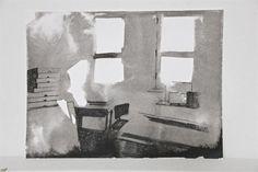 Nanda Runge, 2013 - 27 januari 2012, chinese ink & conté