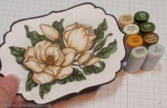 One Krafty Kat: Magnolias