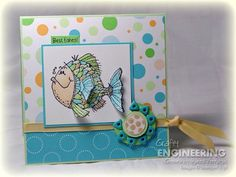 Fishy Mojo by vernagus - Cards and Paper Crafts at Splitcoaststampers