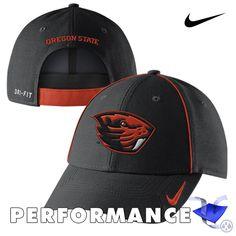 Oregon State Beavers Nike Dri-FIT Coaches Legacy 91 Adjustable Cap - Black