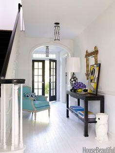 JONATHAN ADLER Interior Design of Foyer