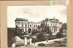 Das Chemische Institut am Templergraben Ende des 19. Jahrhunderts.  Das Chemische Laboratorium wurde im Zweiten Weltkrieg fast vollständig zerstört, heute steht an seiner Stelle das moderne und architektonisch außergewöhnliche SuperC.  Quelle: Hochschularchiv