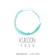 Kukoon Yoga logo design