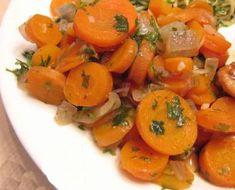 recette Carottes sauce piquante - cuisine Tunisienne