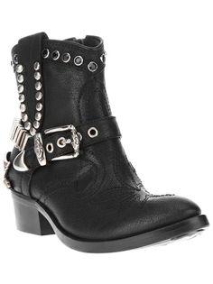 BALDAN Embellished Cowboy Boot