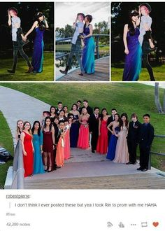 The time they had the perfect date for prom. | Community Post: 33 Times The Anime Side Of Tumblr Was Pretty OK After All