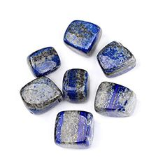 TGS Gems® Bulk Lapis Lazuli Tumbled Stones to inch Reiki Crystals Healing with Pouch Lapis Lazuli Meaning, Crystal For Anxiety, Knowledge And Wisdom, Crystal Healing Stones, Crystal Meanings, Tumbled Stones, Beading Supplies, Crystals And Gemstones, Wicca