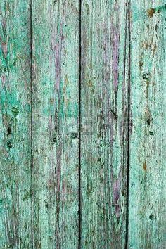 Vieux bois peint bleu clair rustique, la peinture s'�caillait photo