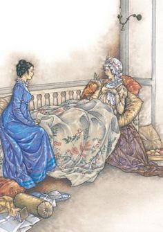 So, you are come at last! I began to think I should never see you. I am so ill I can hardly speak. I have not seen a creature the whole morning!; Mary Musgrove and Anne Elliot - Jane Austen's Persuasion, 2007