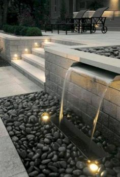 65+ GORGEOUS IDEAS FOR GARDEN WATER FOUNTAINS