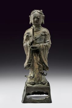 bronze statue     category:   Southeast Asian Antiques  provenance:   China  dating:   Qing (1644-1911)