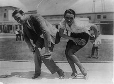 """... who originated the Charleston dance step, coaches actress Pauline Starke for her role as a chorus girl in the 1925 film, """"A Little Bit of Broadway."""
