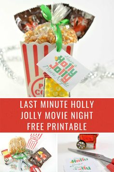 Free printable makes an easy last minute gift idea perfect for a #neighborgift or #holidaygift #freeprintable #free #christmasgift Christmas Party Food, Christmas Cocktails, Christmas Games, Christmas Recipes, Holiday Recipes, Christmas Holidays, Christmas Ideas, Frozen Party Food, Frozen Party Favors