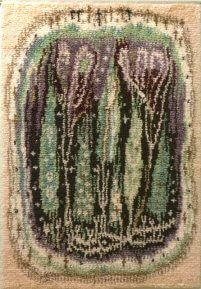 Rya Rug, Geometry Art, Textiles, Punch Needle, Cactus Plants, Wall Rugs, Carpet, Koti, Handmade