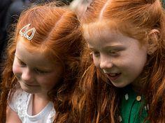 Rood haar komt steeds minder voor, maar wat staat het mooi.
