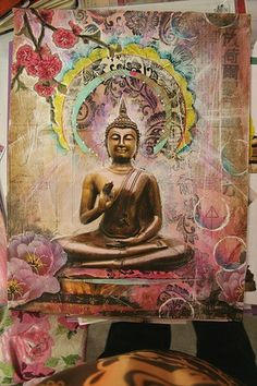 """""""Holding onto anger is like drinking poison and expecting the other person to die.""""  - The Buddha."""