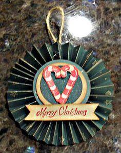 Karen Ladd - Rosette Ornament
