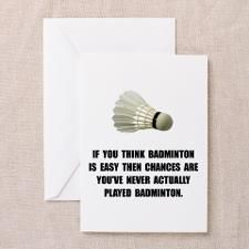 You never played badminon if you think its easy.........Want to learn how you can support your passion for Badminton by earning money online? Wont it be aweseome to enjoy the game of badminton at the court while you make a decent income from home? Click the photo above to watch the free video that shows you a tried and tested system that will enable you to make money online from home so you can support your badminton passion #badmintonquotes #badminton #badmintonfan