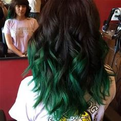 hair dark green roots ombre to platinum - Bing images